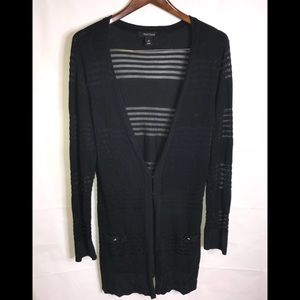 White House Black Market Sweaters - White House Black Market Knit Cover Up Size XL